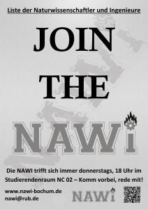 Mitgliederwerbung Plakat